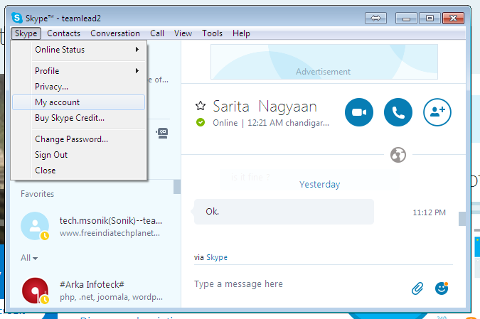 How to Change Your Skype Password using username or using email
